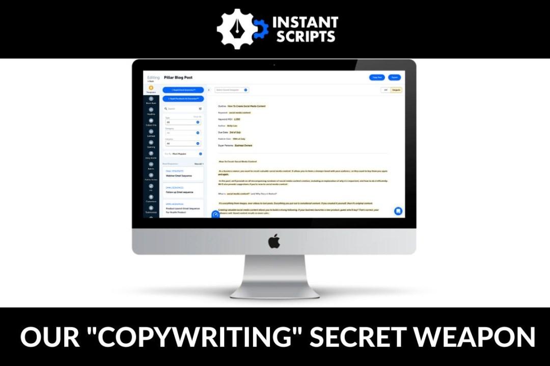 Copywriting Secret Weapon