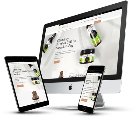 CBDtology CBD Ecommerce Website Design