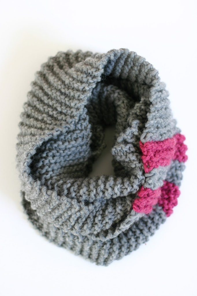The Katy Cowl An Easy Chunky Knit Pattern Flax Twine