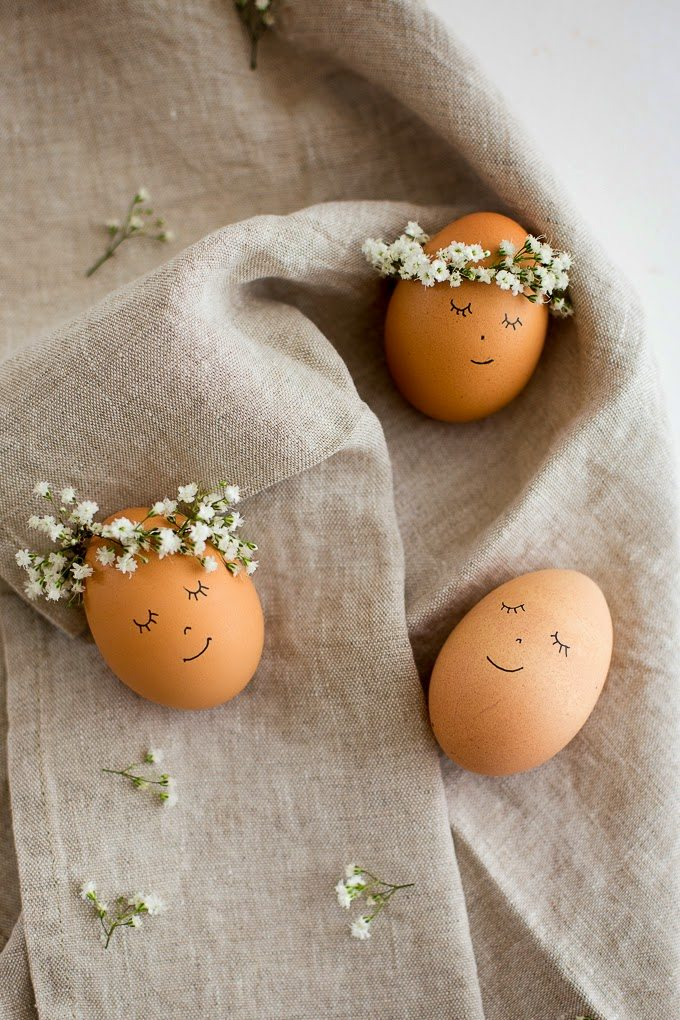 Easter Craft Projects - Non-Dye Eggs