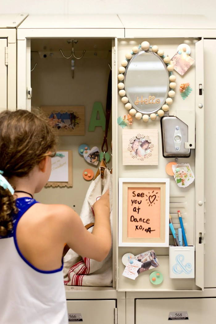 diy locker decorations