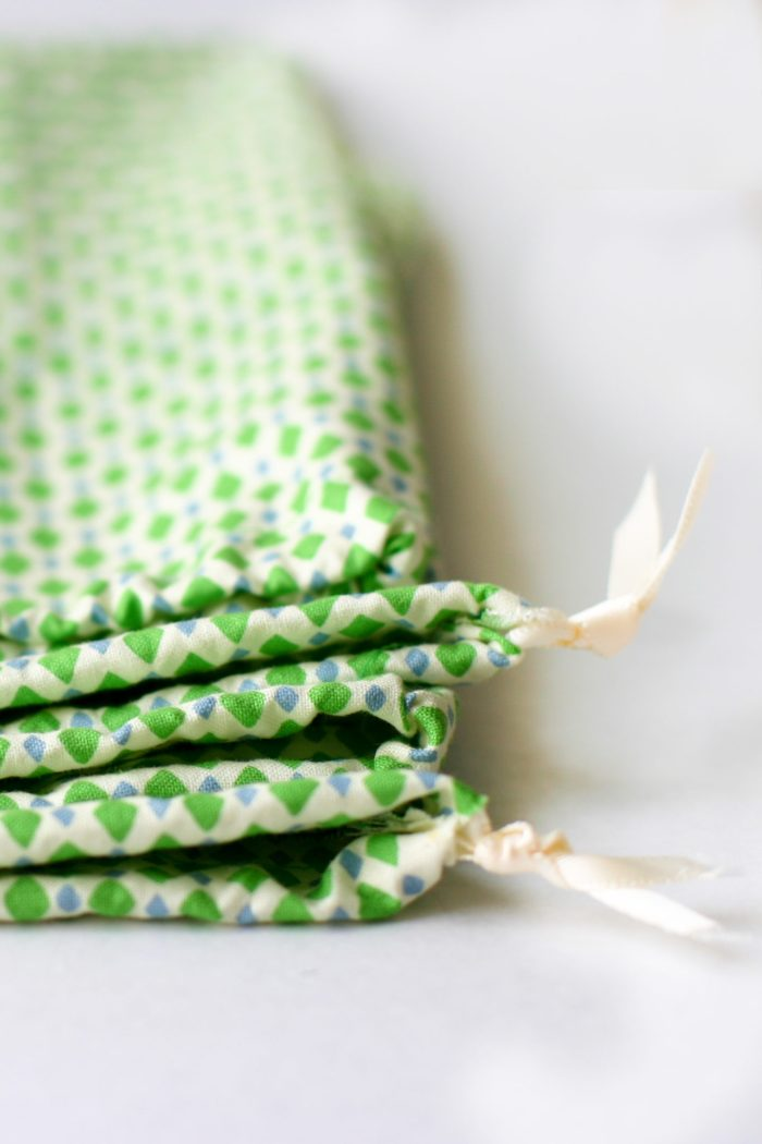 fat quarter gift bags - all you need is 15 minutes