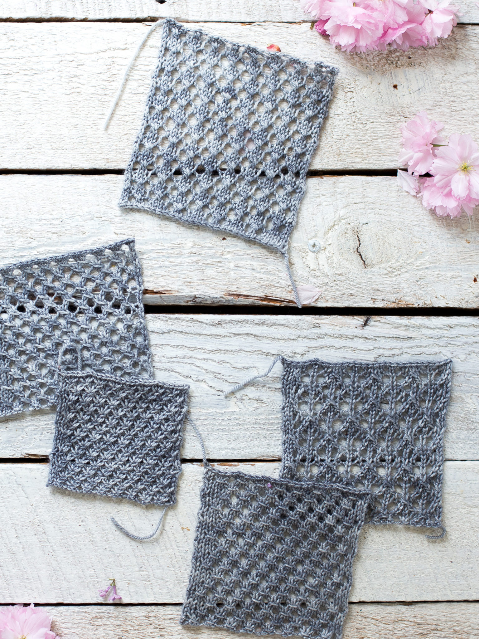 495567e6bb81 How To Make An Easy Lace Knit Shawl Pattern - Flax   Twine