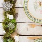 Diy Succulent Centerpiece Flax Twine