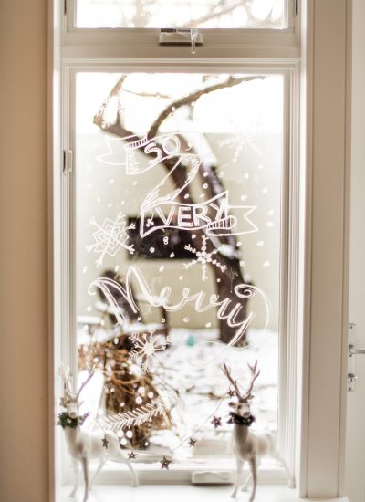 Holiday Window Painting Made Easy