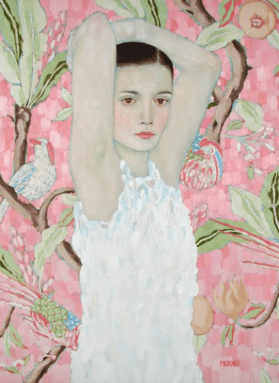 Pretty in Pink Paintings
