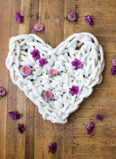 A GIANT Hand Crochet Heart to Spread Valentine's Love