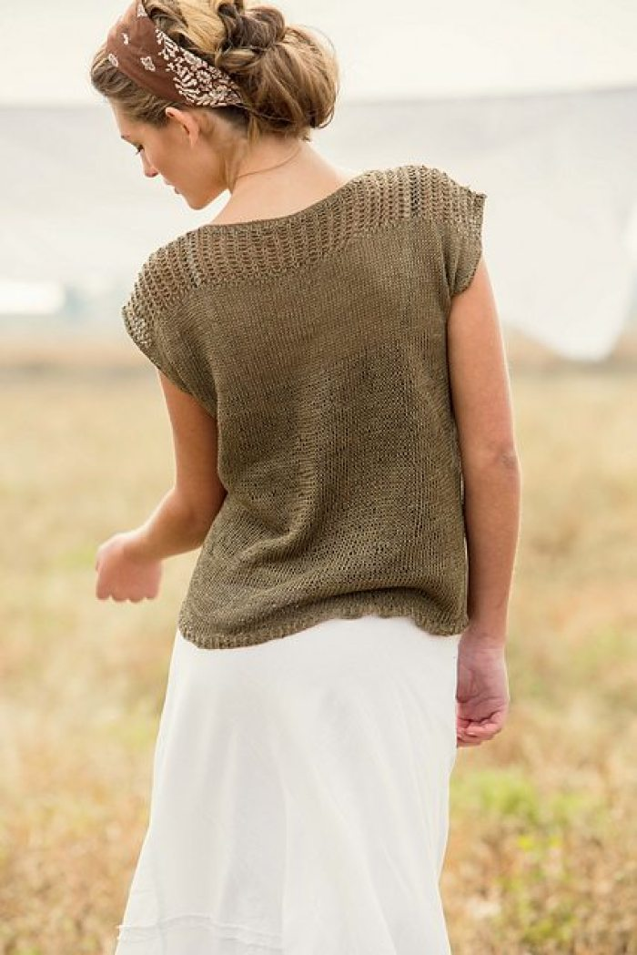 Twelve Super Simple Summer Knitting Patterns Flax Twine