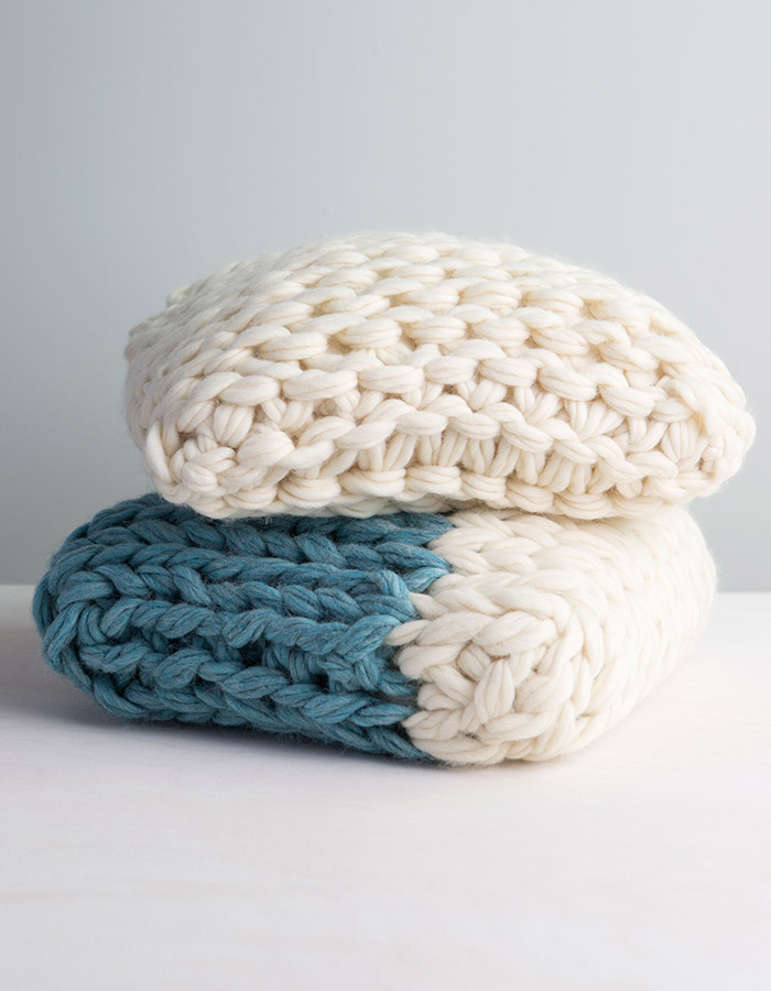Chunky Knit Pillow Covers | Anne Weil of Flax & Twine on Creativebug