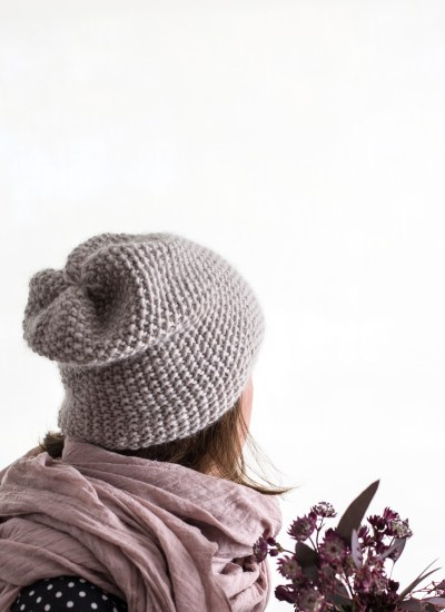 Making WAK Seed Stitch Knit Beanie Hat + Discount Code