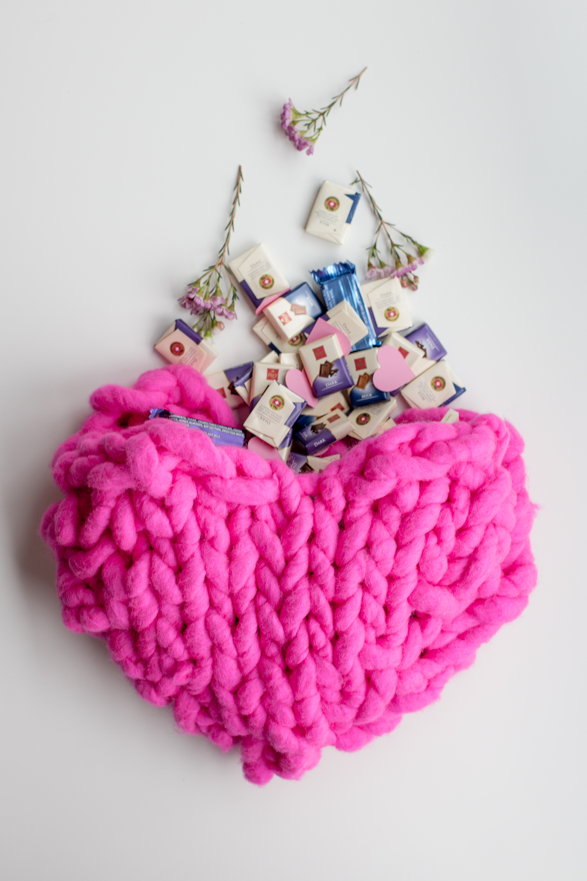 Free Giant Knit Heart Pattern Makes Great Pouch for Valentine\'s ...