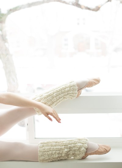 One Skein Knit Leg Warmers Pattern for Beginners