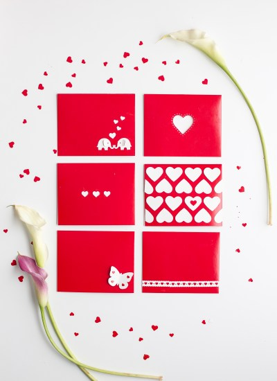 Easy Last-Minute Paper-Punched Valentines