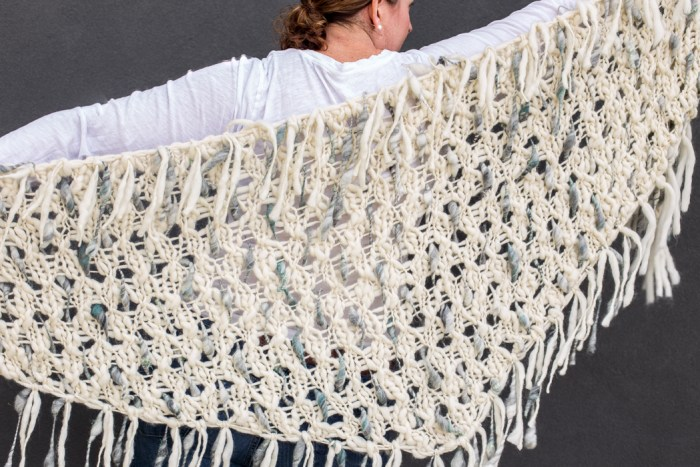 Dash Shawl by Knit Collage