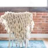 Dash Shawl by Knit Collage