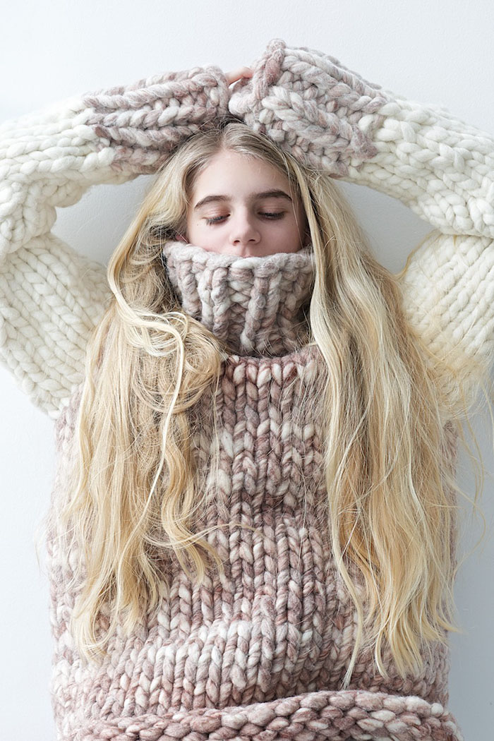 Sweater Weather-12 Best Chunky Knit Sweater Patterns - Flax & Twine