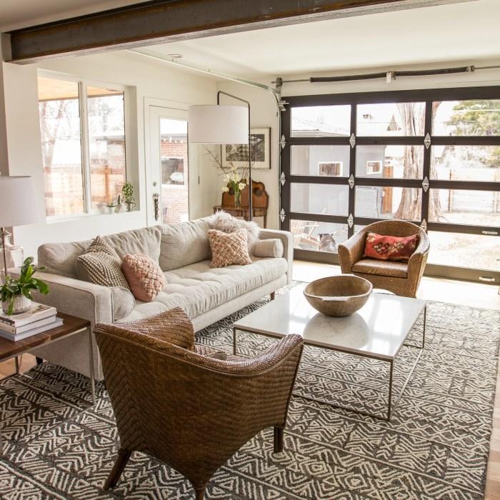 Modern Living Room Update