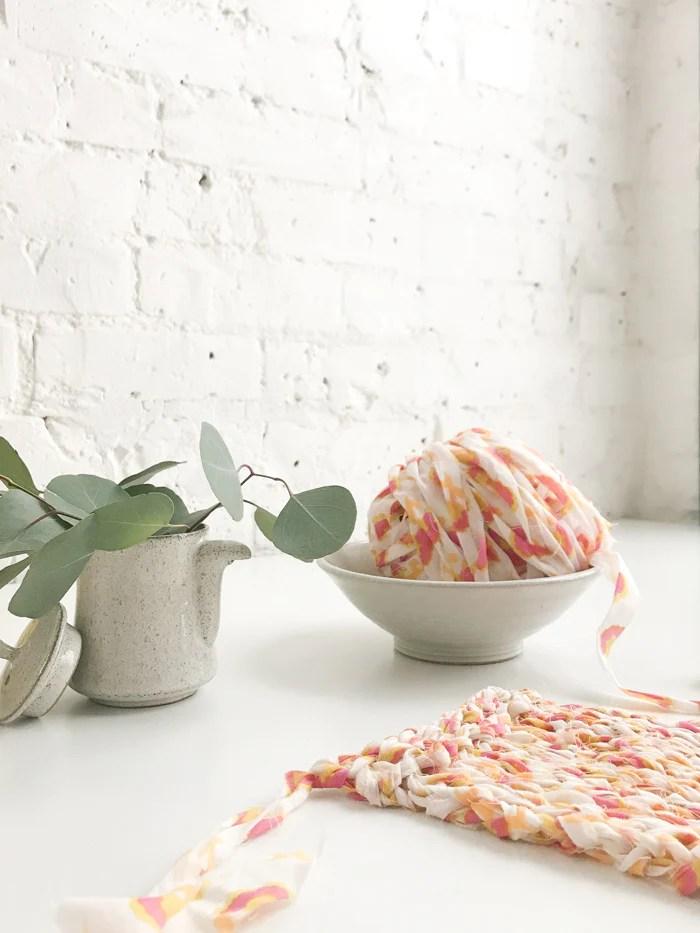 Wildflower Yarn. Photo by Flax & Twine.
