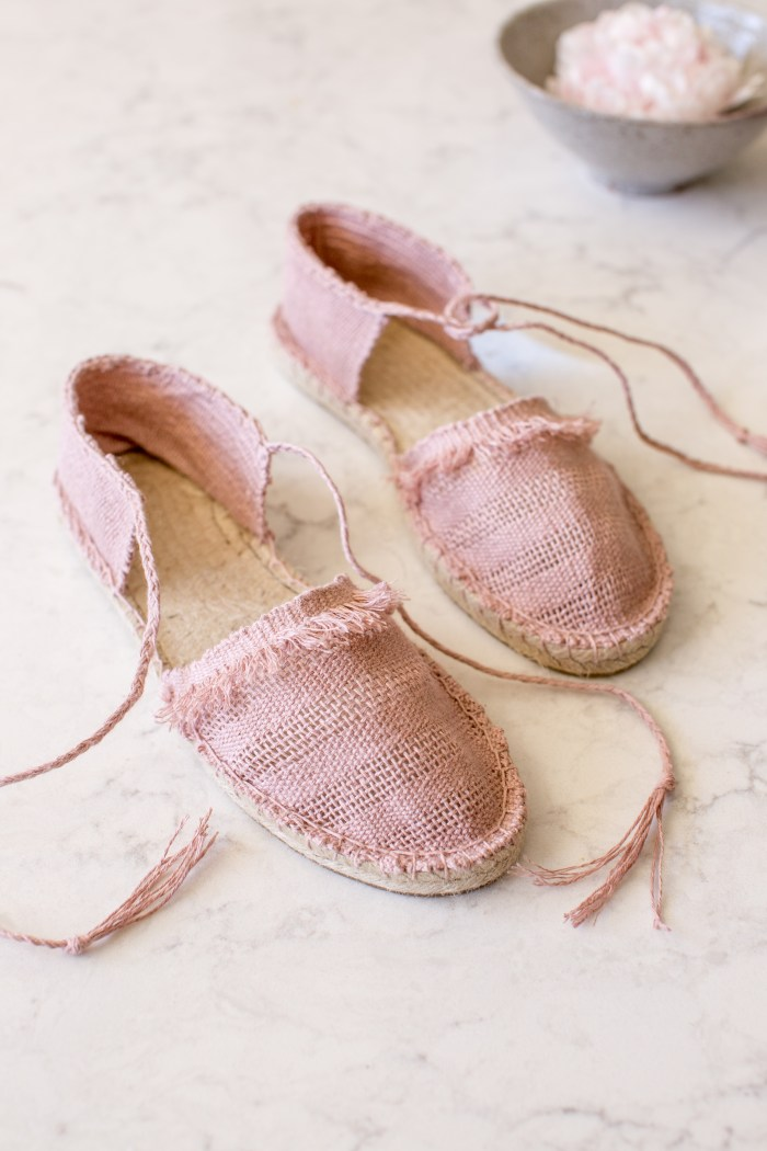 Woven Espadrilles Pattern and Kit