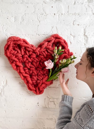 Giant Hand Crocheted Heart Kit