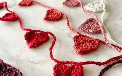 Ombre Tiny Heart Garland