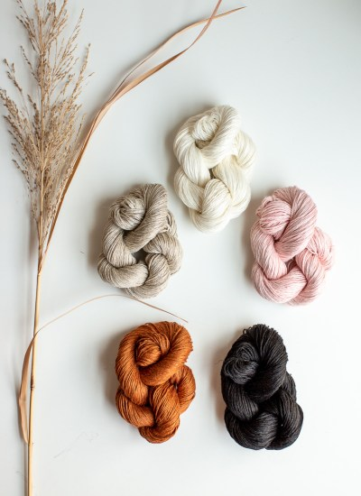 In the Shop! Flax & Twine Daytime Fingering Weight Linen Yarn