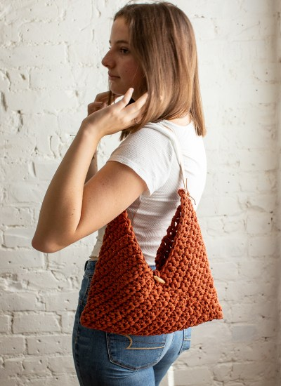 Two-Hour Torrey Tote: Quick + Easy Crochet Purse