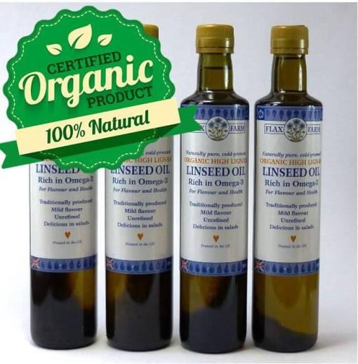 Hugh Lignan cold-pressed linseed oil