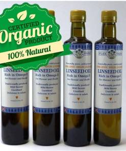 Hugh Lignan cold-pressed linseed oil