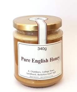 Raw English Honey thick