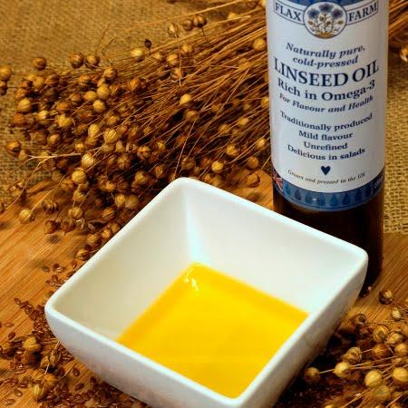 Linseed Oil Flax Farm