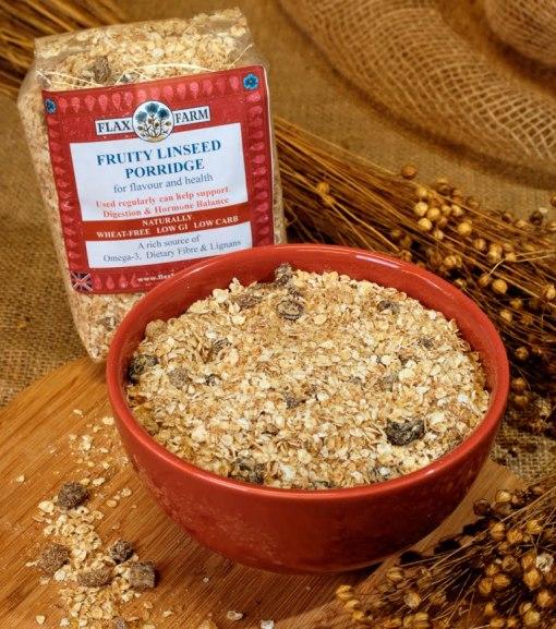 Fruity linseed porridge loose