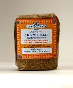 Bronze ground linseed