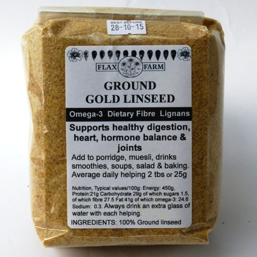 Ground gold linseed instructions