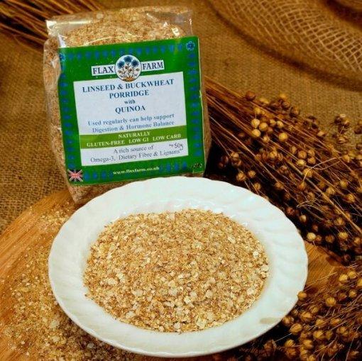 Special linseed porridge with Buckwheat & quinoa loose