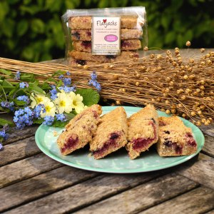 Flaxjacks contain ground linseed, an excellent source of lignans.