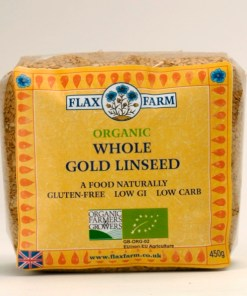 Whole gold linseed