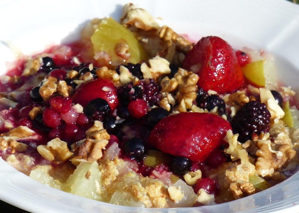 Gluten-free, paleo, sugar-free. grain-free porridge with flac