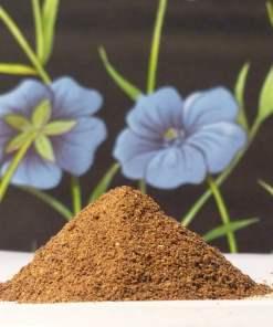 FlaxGrow Organic flax (linseed) meal soil conditioner/fertiliser Vegan
