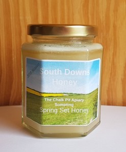 Southdowns Chalk Pit Apiary set honey