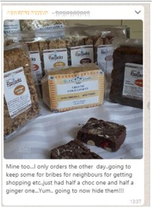 Mail order linseed flax oil and luxury linseed flapjacks