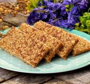 Gluten-free linseed flapjack recipe flaxjacks.