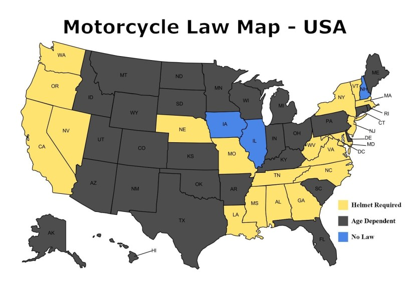 Motorcycle Laws In Florida Helmet | Kayamotor.co