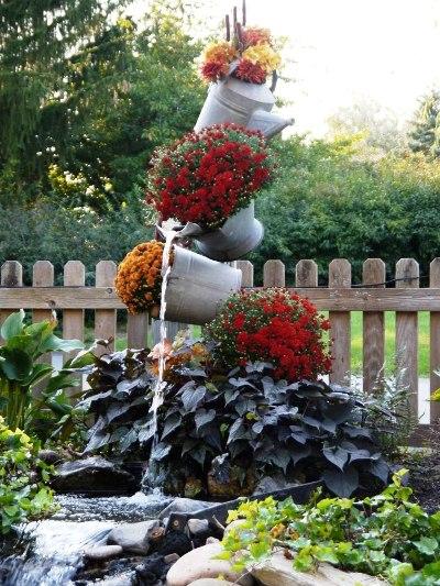Annie S Galvanized Tipsy Pots Flea Market Gardening