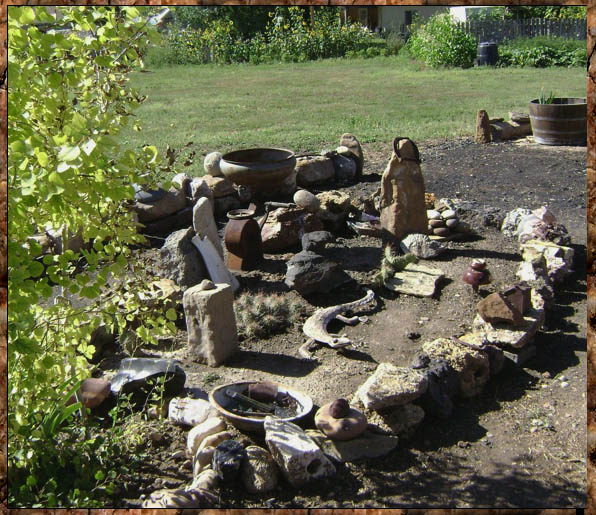 Marie Niemann's desert style rock garden