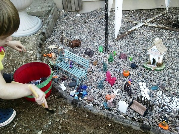 Bella's play garden