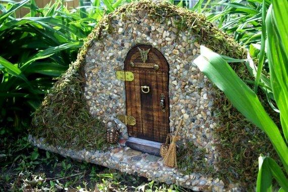 How to creating a flea market fairy garden flea market for Fairy doors for sale