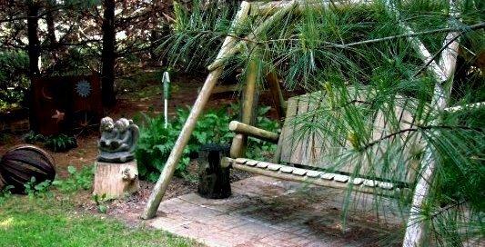 Jeanne's secret garden.