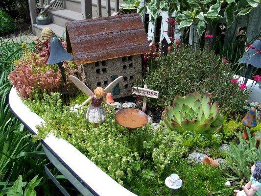 Arlene Brennemanu0027s Tiny House Centers The Miniaturel Garden