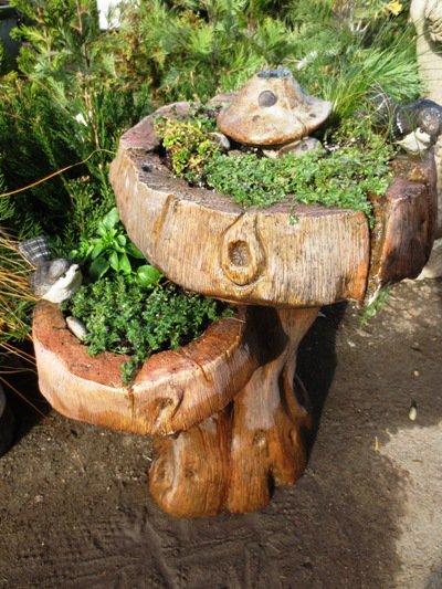 Brilliant Birdbaths Re Purposed Flea Market Gardening